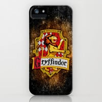 Harry potter gryffindor team flag apple iPhone 3, 4 4s, 5 5s 5c, iPod & samsung galaxy s4 case cover