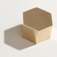 Iacoli & McAllister — BRASS HEX WEIGHT