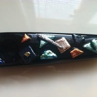 Dichroic Glass Pipe - Abstract 3d1 -
