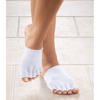 EasyComforts Open Toe Gel Socks by EasyComforts