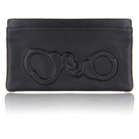 Vlieger & Vandam Bags | Guardian Angel Snake Clutch Handcuffs Black | Amsterdam