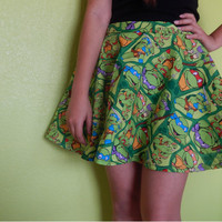 Teenage Mutant Ninja Turtles skirt