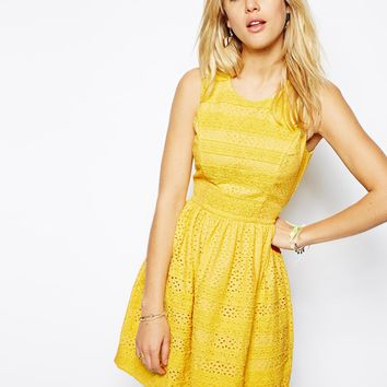 Needle & Thread Broderie Lace Dress