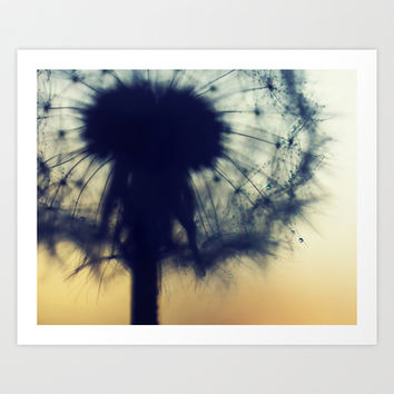 a tiny sparkle in winter Art Print by ingz