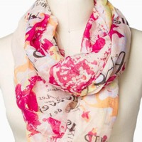PARIS ETERNITY SCARF