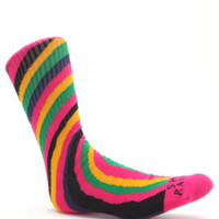 Volcom Ozzy Striped Crew Socks at PacSun.com