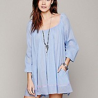 Free People Womens Pop Stitch Swing Tunic