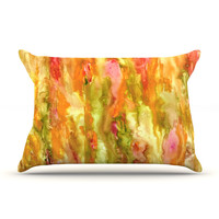 "Rosie Brown ""Walk in the Forest"" Pillow Case"