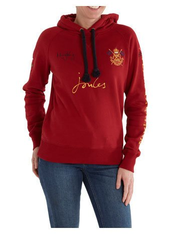 Red Womens Mary King Sweatshirt Sweatshirt | Joules