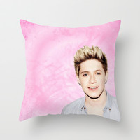 Niall Throw Pillow by hayimfabulous