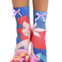Disney The Little Mermaid Anklet Sock