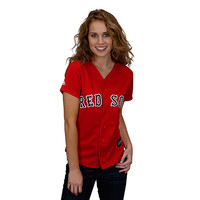 Boston Red Sox Women's Alternate Replica Jersey by Majestic Athletic