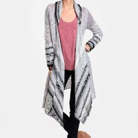 Alaska Waits Aztec Cardigan | Threadsence