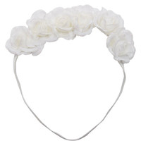 Glitter Roses Crown Headwrap | Wet Seal