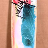 "GRAVITY 45"" TROPICAL SPLASH LONGBOARD COMPLETE"