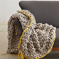 Ochre Roving Throw