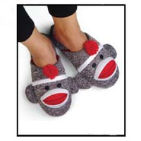 Sock Monkey Company.com - Women's Sock Monkey Slippers