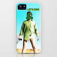 BREAKING BAD LET'S COOK iPhone & iPod Case by Ylenia Pizzetti