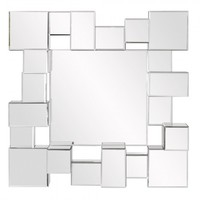 Babylon Wall Mirror 99027 by Howard Elliott Furniture - Opulentitems.com