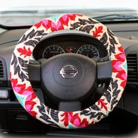 Steering-wheel-cover-for-wheel-car-accessories-Floral-Wheel-cover