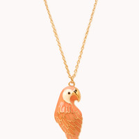 Quirky Bird Pendant Necklace | FOREVER21 - 1000066099