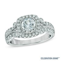Celebration Grand™ 1-1/4 CT. T.W. Diamond Engagement Ring in 14K White Gold (H-I/I1)