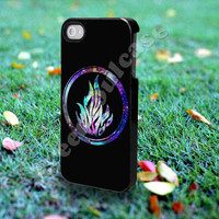 Divergent Dauntless The Brave Logo in Galaxy - for iPhone 4/4s, iPhone 5/5S/5C, Samsung S3 i9300, Samsung S4 i9500 *Greensoulcase*