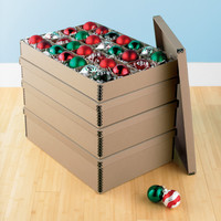Archival Ornament Storage Boxes