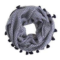 PRINTED SILK SNOOD