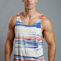 Lasc® Brush Stripe Tank