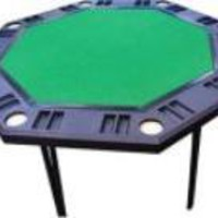 Rio Brands Foldaway Octagon Poker Table
