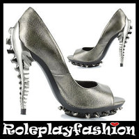 METROPOLIS  PLATFORM SHOES PUMPS