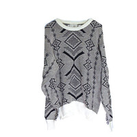 Black and white Wild Print Tribal Abstract