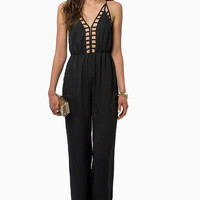 Callie Cutout Cami Jumpsuit $49