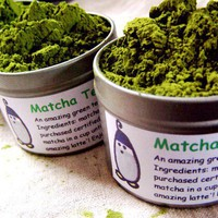 matcha tea by good4you on Etsy