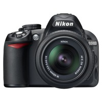 Nikon D3100 14.2MP Digital SLR Camera with 18-55mm VR Lens - Black