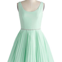 Sage a Dance Dress in Mint | Mod Retro Vintage Dresses | ModCloth.com