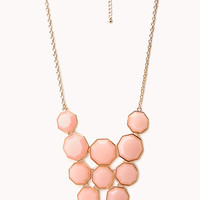 Geo Girl Faux Stone Necklace