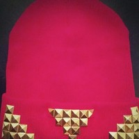 |Triple Threat| Beanie (front only design)