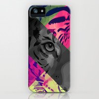 Wild Spirit #1 iPhone & iPod Case by Ornaart