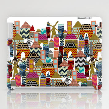 geo town iPad Case by Sharon Turner