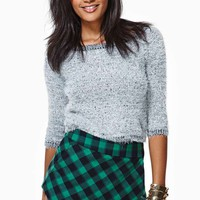 Courted Skort - Gingham