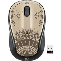 Logitech - Color Collection M325 Wireless Optical Mouse - India Jewel