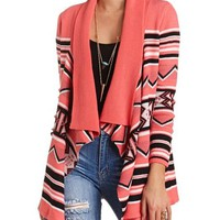 CASCADE AZTEC CARDIGAN SWEATER