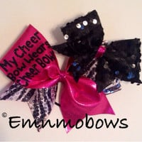 My Cheer Bow Wears Cheer Bows bow