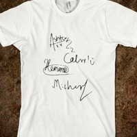 5SOS SIGNATURES SHIRT