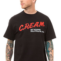 The CREAM Tee in Black
