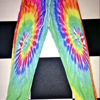 SWEET LORD O'MIGHTY! TIE DYE SWEATPANTS