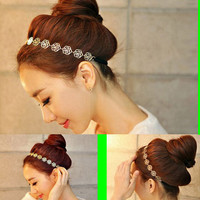 Rose Blossom Fashion Hair Band