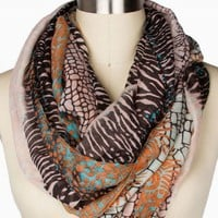 ANIMAL ETERNITY SCARF